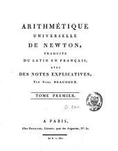 Arithmétique universelle: Volume1