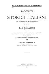 Rerum italicarum scriptores: Volume 28,Parte 3