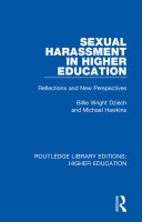 Sexual Harassment in Higher Education
