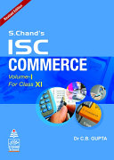 S. Chand's ISC Commerce For Class XI (2021 Edition)