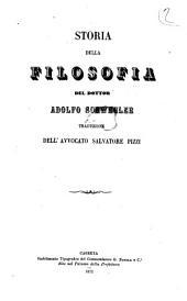 Storia della filosofia del dottor Adolfo Schwegler