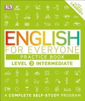 English for Everyone  Level 3  Intermediate  Practice Book PDF