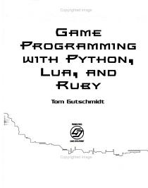 Game Programming with Python  Lua  and Ruby PDF
