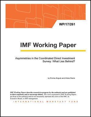 Asymmetries in the Coordinated Direct Investment Survey  What Lies Behind