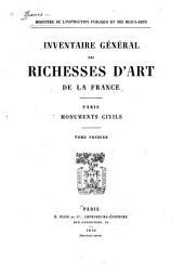 Inventaire général des richesses d'art de la France: Volumes1à2