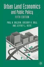 Urban Land Economics and Public Policy