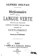 Dictionnaire de la langue verte