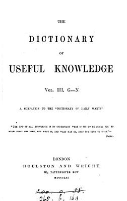 The Dictionary of Useful Knowledge PDF