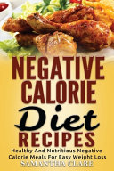 Negative Calorie Diet Recipes PDF