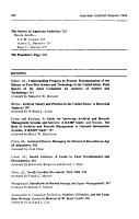 The American Archivist PDF