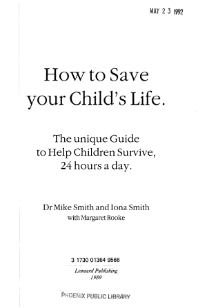 How to Save Your Child s Life