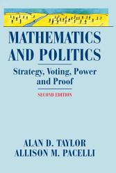 Mathematics And Politics Book PDF