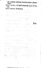 Ioannis de Laet ... De gemmis et lapidibus libri duo: Quibus praemittitur Theophrasti liber de lapidibus graece & latine cum brevibus annotationibus