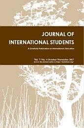 Journal of International Students, 2017 Vol. 7(4)