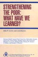 Strengthening the Poor PDF