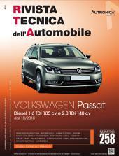 Manuale di riparazione Volkswagen Passat: 1.6TDi 105 cv e 2.0 TDi 140 cv - RTA258