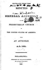 Extracts from the Minutes of the General Assembly of the Presbyterian Church in the United States of America: Volume 5