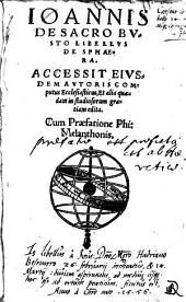 Libellus De Sphaera