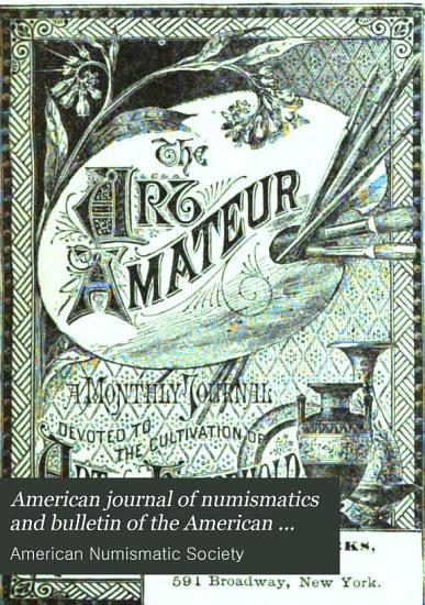 American Journal of Numismatics PDF