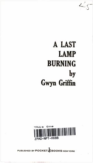 A Last lamp Burning