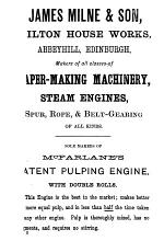 A Text-book of Papermaking