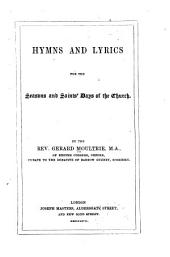 Hymns and Lyrics for the Seasons and Saints' Days of the Church