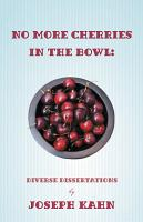 No More Cherries in the Bowl PDF