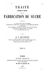 Traite Theorique Et Pratique De La Fabrication Du Sucre ...