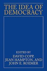 The Idea Of Democracy Book PDF