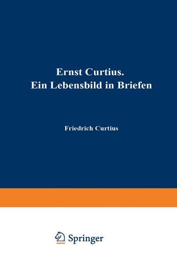 Ernst Curtius PDF
