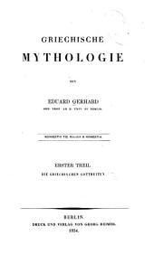 Griechische mythologie: th. Die griechischen gottheiten