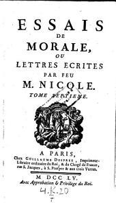 Essais de morale, contenus en divers traites sur plusieurs devoirs importans. - Paris, Desprez 1755