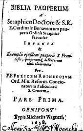 Biblia pauperum: Volume 1