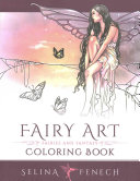Fairy Art Coloring Book