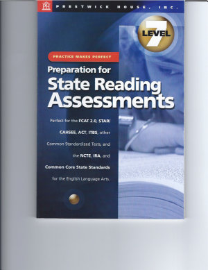 Practice Makes Perfect  Level 7  Preparation for State Reading Assessments PDF