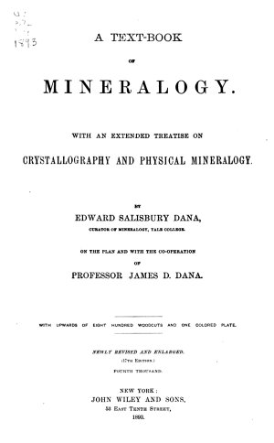 A Text book of Mineralogy