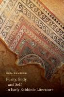 Purity  Body  and Self in Early Rabbinic Literature PDF