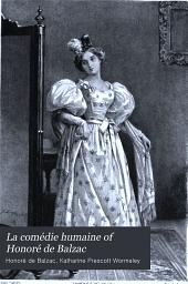 La Comédie Humaine of Honoré de Balzac: Volume 2