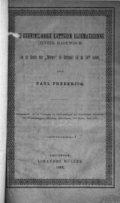 """De geheimzinnige ketterin Bloemaerdinne (Zuster Hadewijch) en de Secte der """"Nuwe"""" te Brussel in de 14de eeuw"""