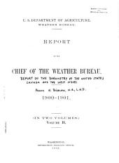 Report of the Chief of the Weather Bureau: Volume 2
