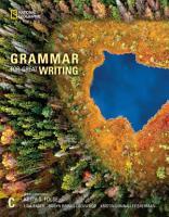 Grammar for Great Writing C PDF