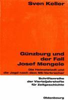 G  nzburg und der Fall Josef Mengele PDF