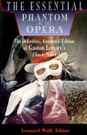 The Essential Phantom of the Opera PDF
