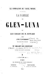 La famille de Glen-Luna ou Les essais de M. Howard