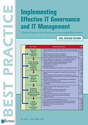 Implementing Effective It Governance and It Management PDF