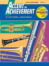 Accent on Achievement: Piano Accompaniment, Book 1