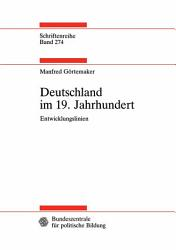 Deutschland im 19  Jahrhundert PDF