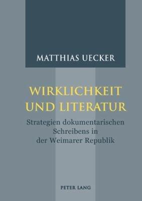 Wirklichkeit und Literatur PDF