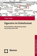 Eigensinn im Einheitsstaat PDF