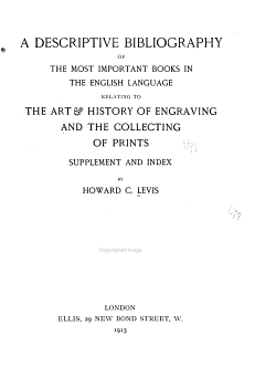 A Descriptive Bibliography of the Most Important Books in the English Language PDF